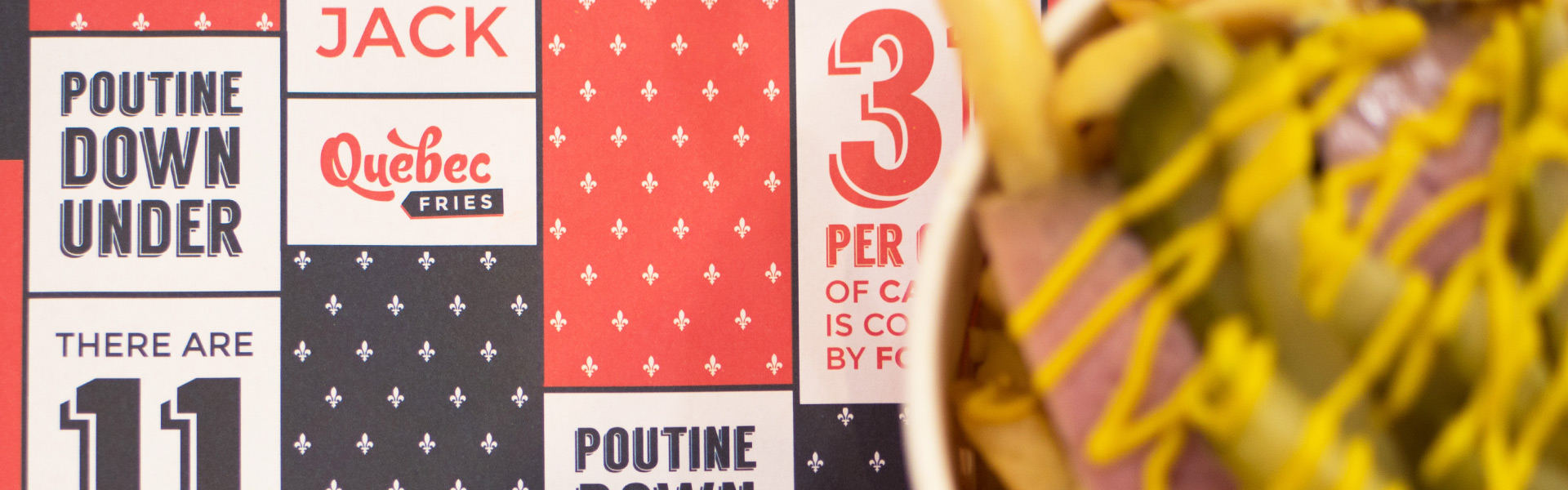 Quebec Fries Close Up Branding