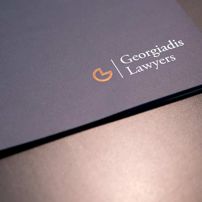 Georgiadis Lawyers Presentation Folder